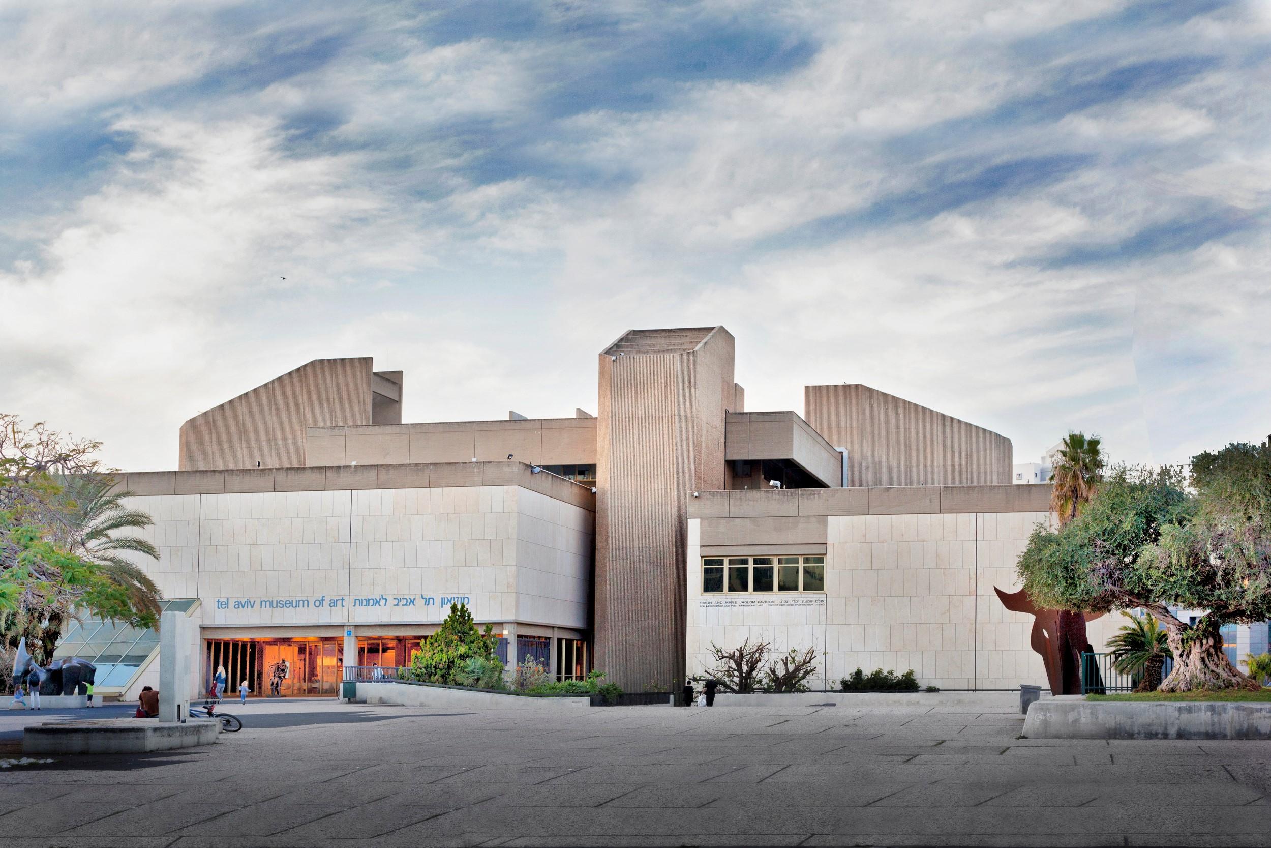 (צילום: גיל בר, מוזיאון תל-אביב, בתכנון האדריכל דן איתן)