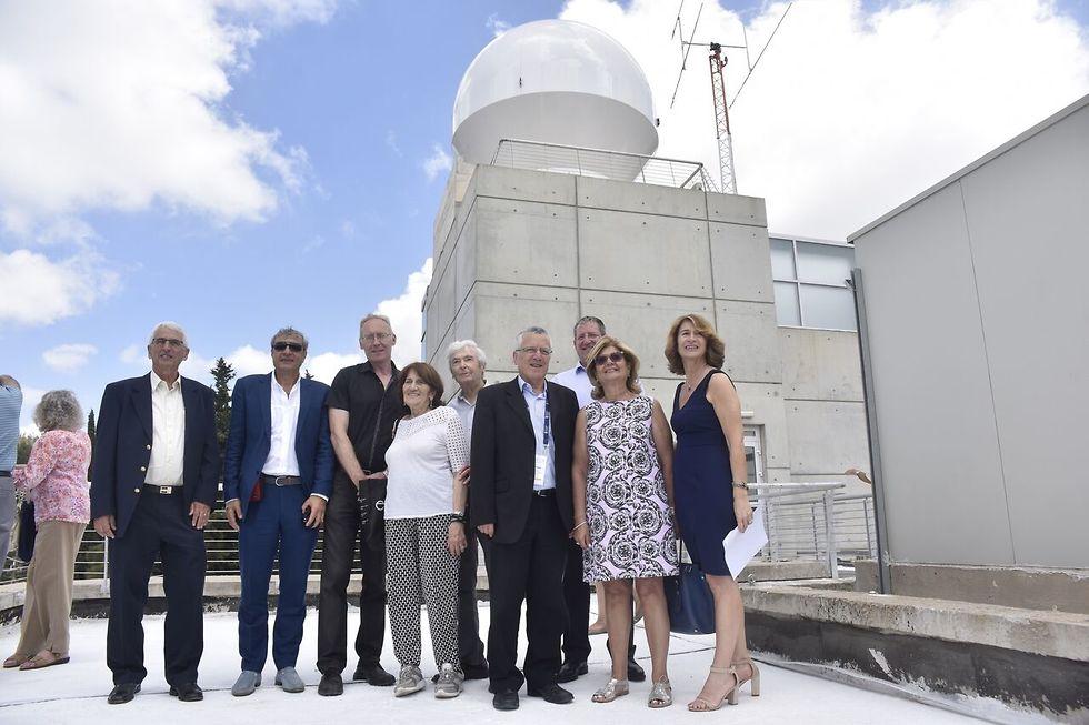 התחנה תהווה מרכז בקרה עבור שלושת הלוויינים שישוגרו בסוף השנה (צילום: דוברות הטכניון)