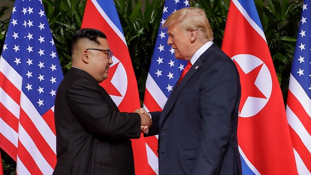 Trump and Kim in Singapore (Photo: AP)