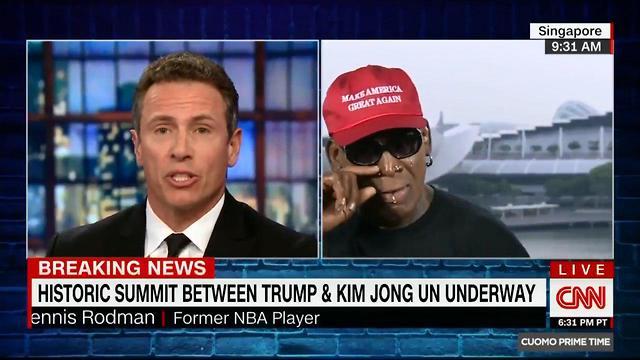 דניס רודמן (צילום: CNN)