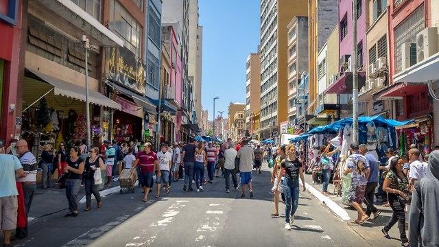 סאו פאולו ברזיל (צילום: shutterstock)
