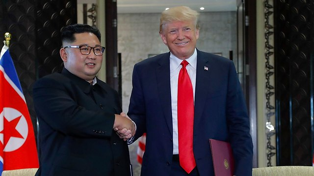 Kim now is accepted as a leader of equal standing to the President of the United States, and so far, he has given up none of his nuclear capabilities (Photo: AP)