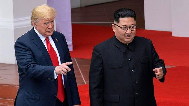 Trump and Kim (Photo: AP)