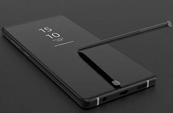 Note 9. עיצוב משוער 2 (צילום מסך: OnLeaks)