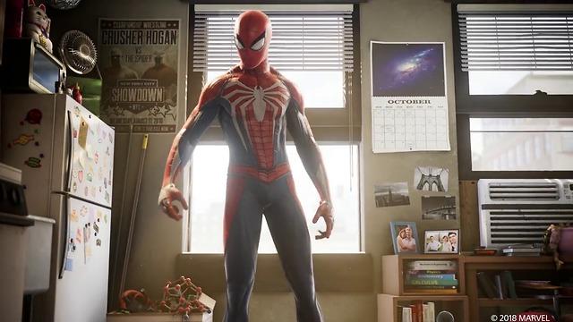 מתוך ספיידרמן החדש בתערוכת E3 (תצלום מסך)