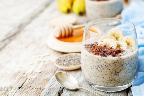 לחצו על התמונה ותגיעו ל- 4 מתכונים עם זרעי צ'יה  (צילום: Shutterstock)
