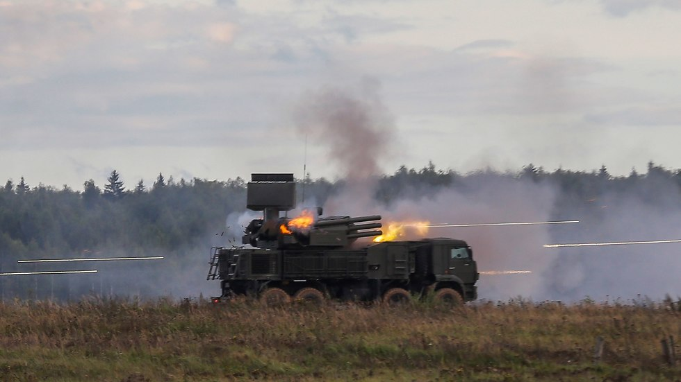 The Russian-made Pantsir S1 missile system (Photo: EPA)