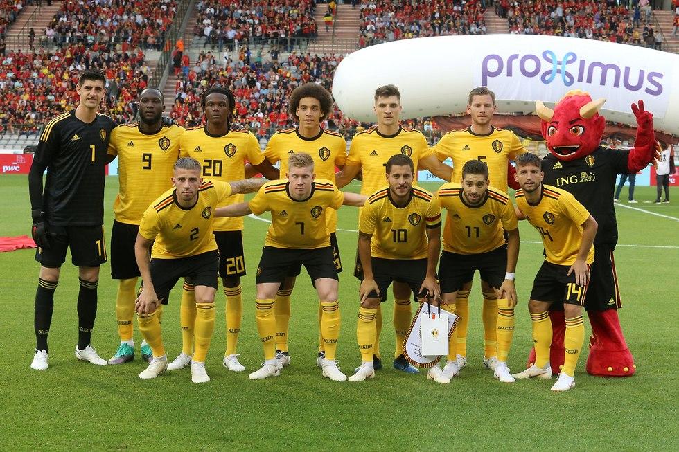 הרכב נבחרת בלגיה למשחק ההכנה מול קוסטה ריקה (צילום: רויטרס)