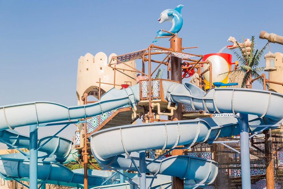 Парк Yas Waterworld в Абу-Даби. Фото: shutterstock