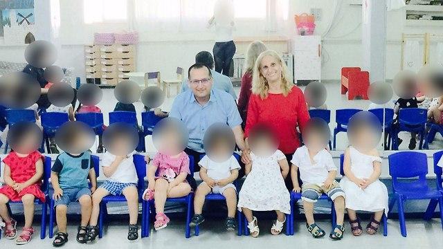 גן מתוק ראש העיר רן קוניק  ה גננת אביבה דהן התעללות אלימות תינוקות פעוטות ()