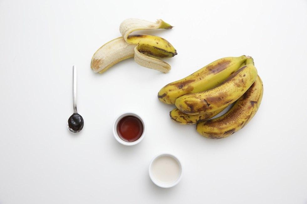 גלידת בננות (צילום: ירון ברנר)