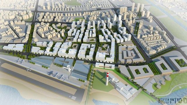 שדה דה תל אביב (הדמיה: משרד אדריכלים בר לוי דיין אדריכלים ומתכנני ערים)
