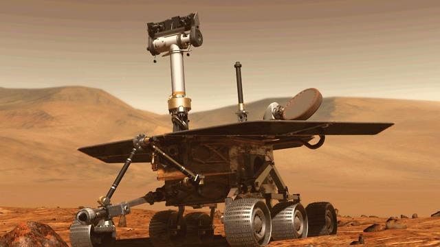 רכב החלל אופורטיוניטי (צילום: נאס