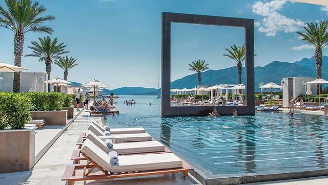 מלון היוקרה בפורטו מונטנגרו בטיבאט (צילום: porto montenegro)