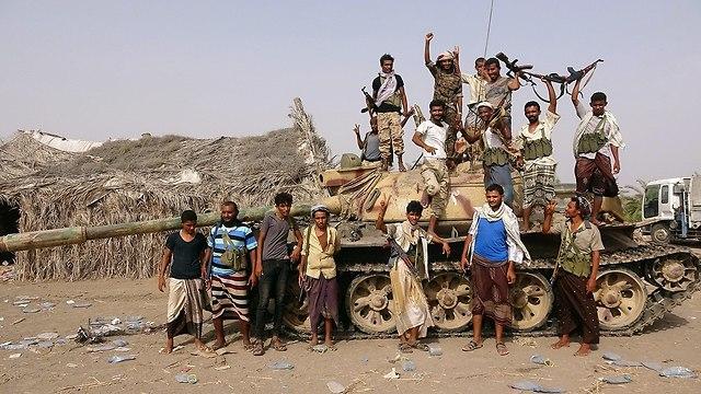 סעודים מתקפה מבצע ניצחון הזהב תימן (צילום: רויטרס)