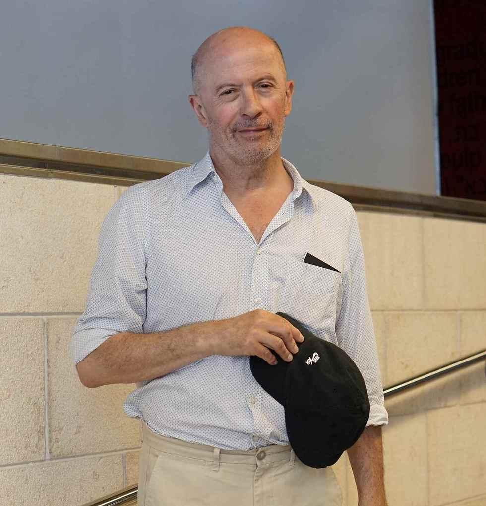 ז'אק אדיאר ברחבת סינמטק תל אביב (צילום: קארין איירי)
