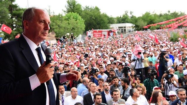 מוהרם אינצ'ה מועמד לנשיאות טורקיה  (צילום: MCT)