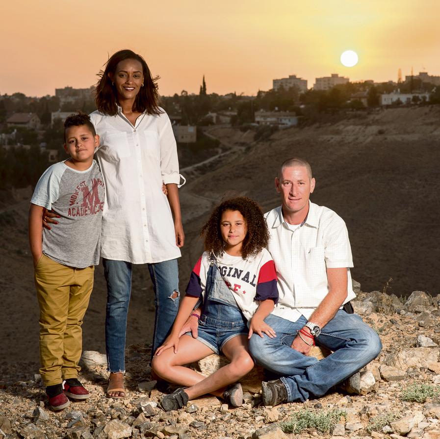 """משפחת יפה. האם, עדנה: """"גדלנו בתחושה  שהכל אפשרי"""""""
