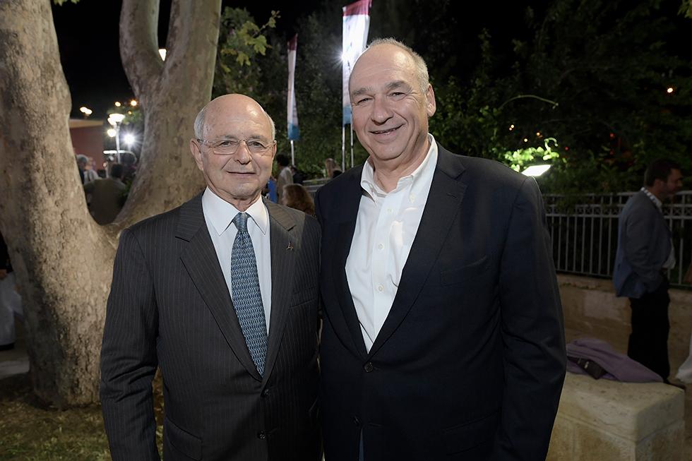 רכילות עסקית מיקי פדרמן והראל בית און (צילום: ברונו שרביט)