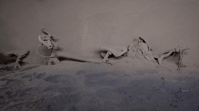 התפרצות הר געש בגואטמלה (צילום: AP)
