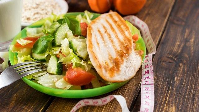 אוכל דיאטטי (צילום: shutterstock)