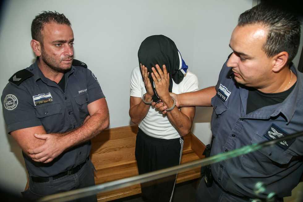 הארכת מעצר לפאדי מאלוק (צילום: יריב כץ)