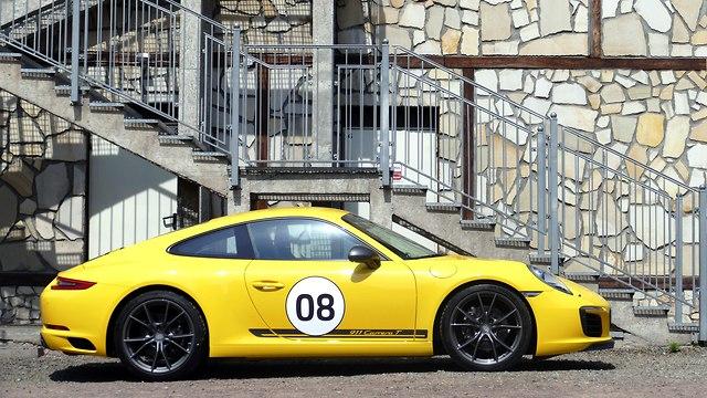פורשה 911 קררה T (צילום: ניר בן זקן)