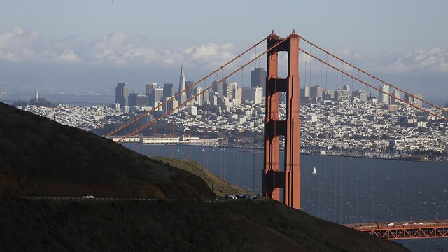 גשר הזהב, סן פרנסיסקו (צילום: AP)