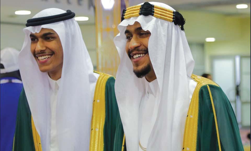 Саудовские болельщики. Фото: Вести