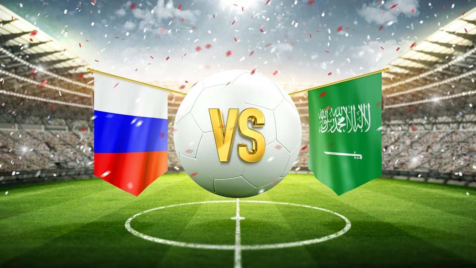 Россия - Саудовская Аравия. Иллюстрация: Shutterstock