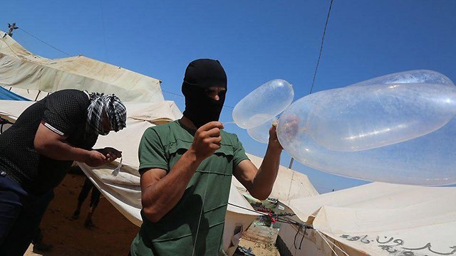 Gaza's 'incendiary kites and balloons unit' preparing for Friday