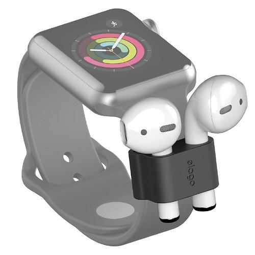 """מחזיק לאוזניות של אפל (צילום: יח""""צ)"""