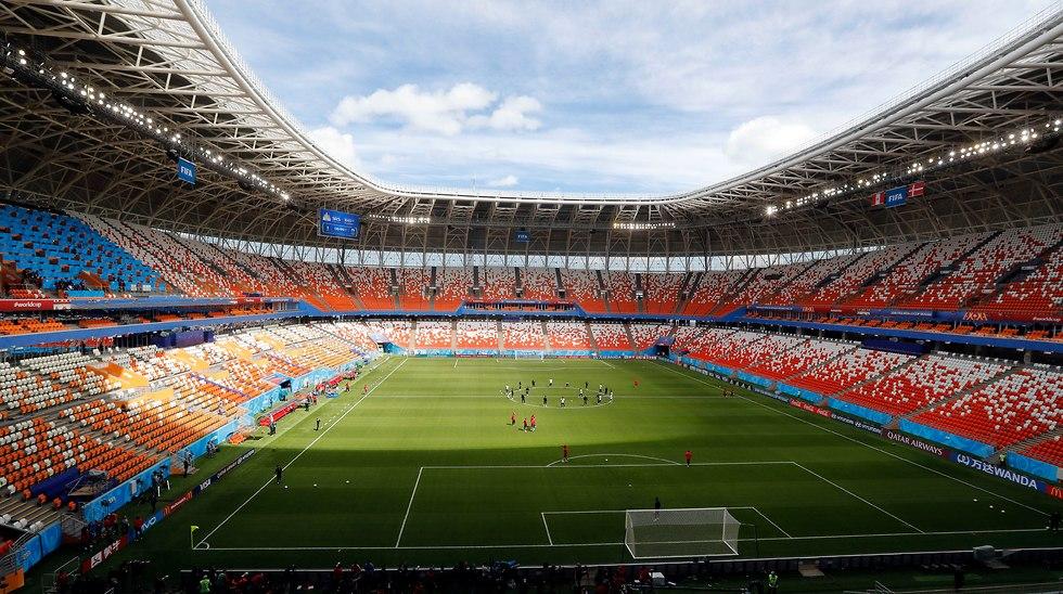 איצטדיון מורדוביה בסראנסק (צילום: AP)