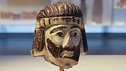 Sculpted head of mystery biblical king found