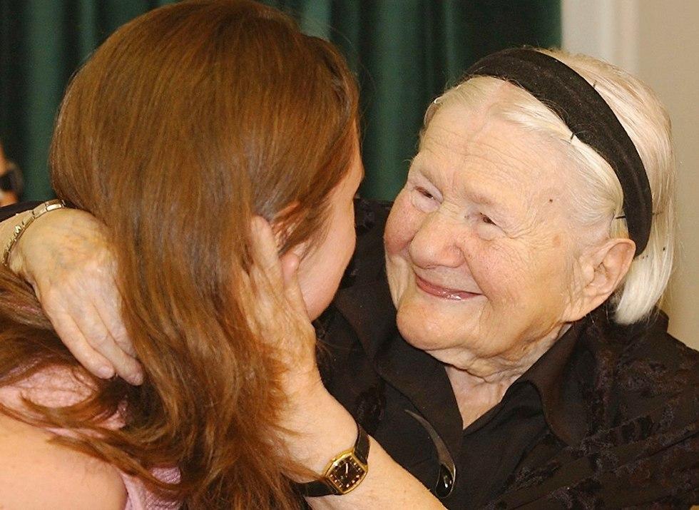 Holocaust survivor Irena Sendler (Photo: AP)