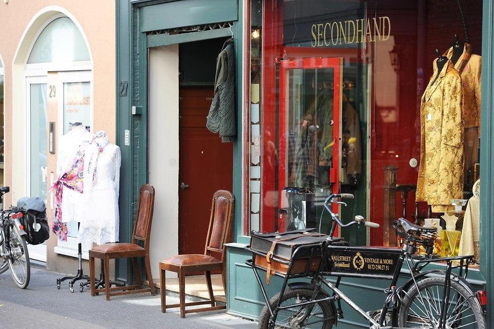 חנות יד שנייה (צילום: לשכת התיירות של דיסלדורף)