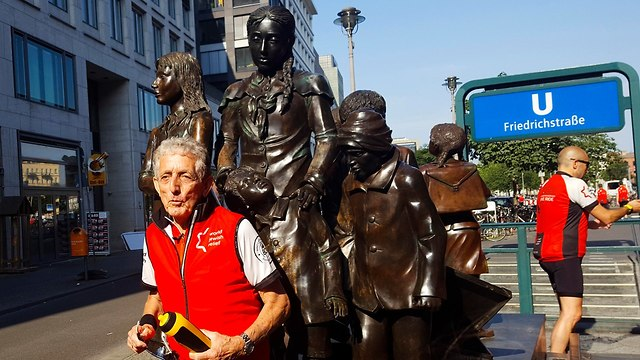 Paul Alexander in Berlin (Photo: AP)