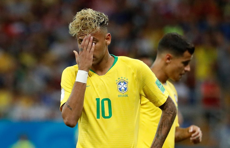ניימאר נבחרת ברזיל (צילום: EPA)