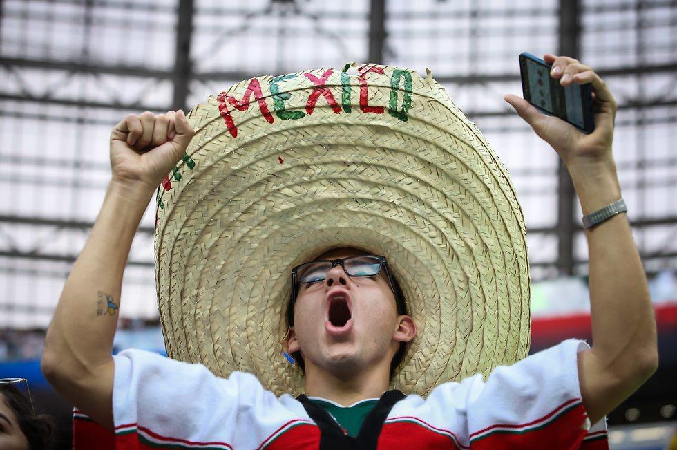 גרמניה מקסיקו (צילום: עוז מועלם)