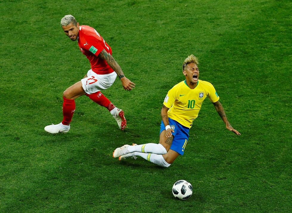 ניימאר נבחרת ברזיל (צילום: רויטרס)