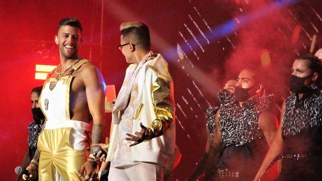 סטטיק ובן אל בהופעה ראשונה לקהל הרחב (צילום: דנה למברגר)