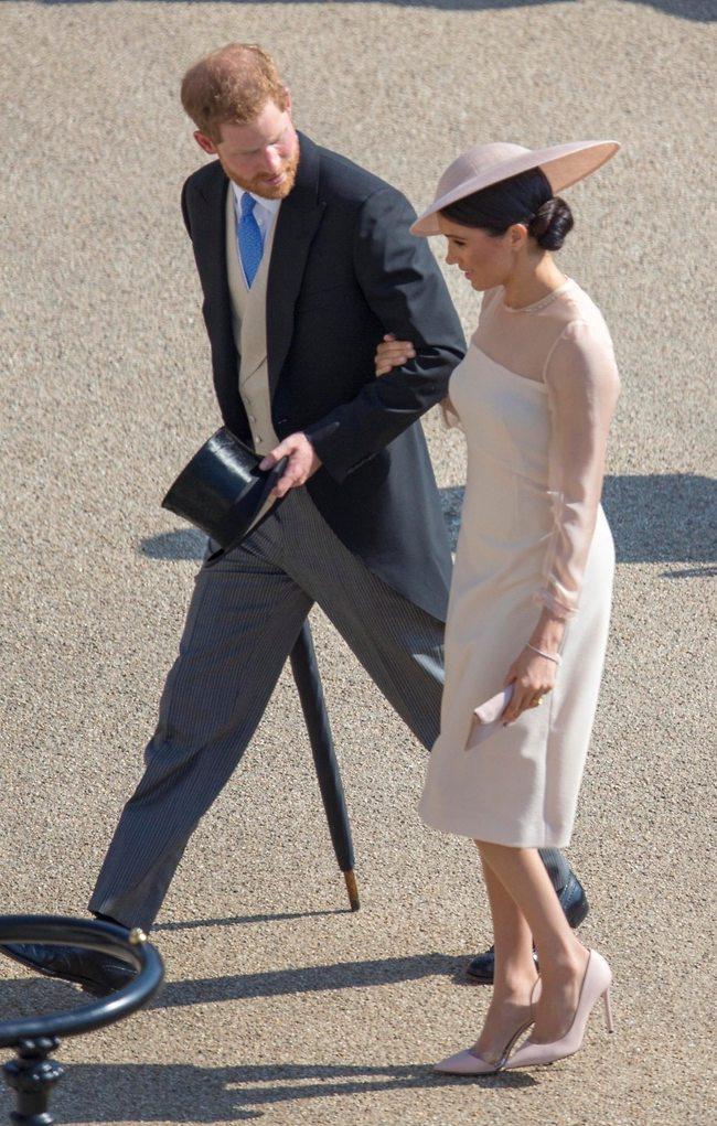 הזוג המלכותי. מייגן מרקל והנסיך הארי (צילום: Gettuimages)