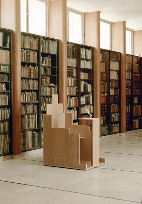 '''סכין-חילזון'' מתוך התערוכה של מעיין אליקים בספרייה. תקריב שלה - מיד (צילום: מעיין אליקים)