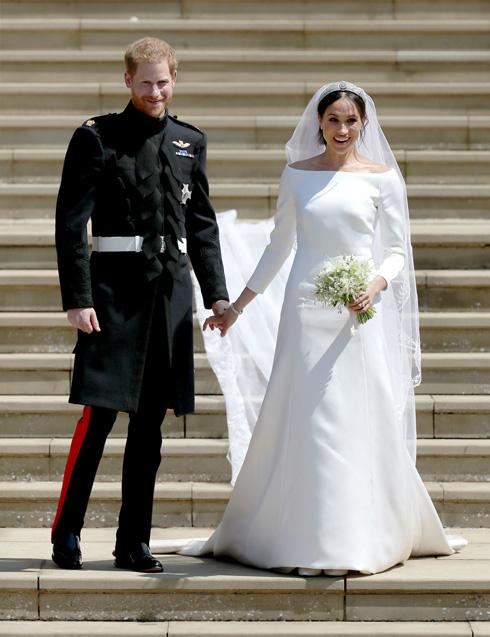 כמה עלתה שמלת הכלה של מייגן מרקל? לחצו על התמונה לכתבה המלאה (צילום: GettyimagesIL)