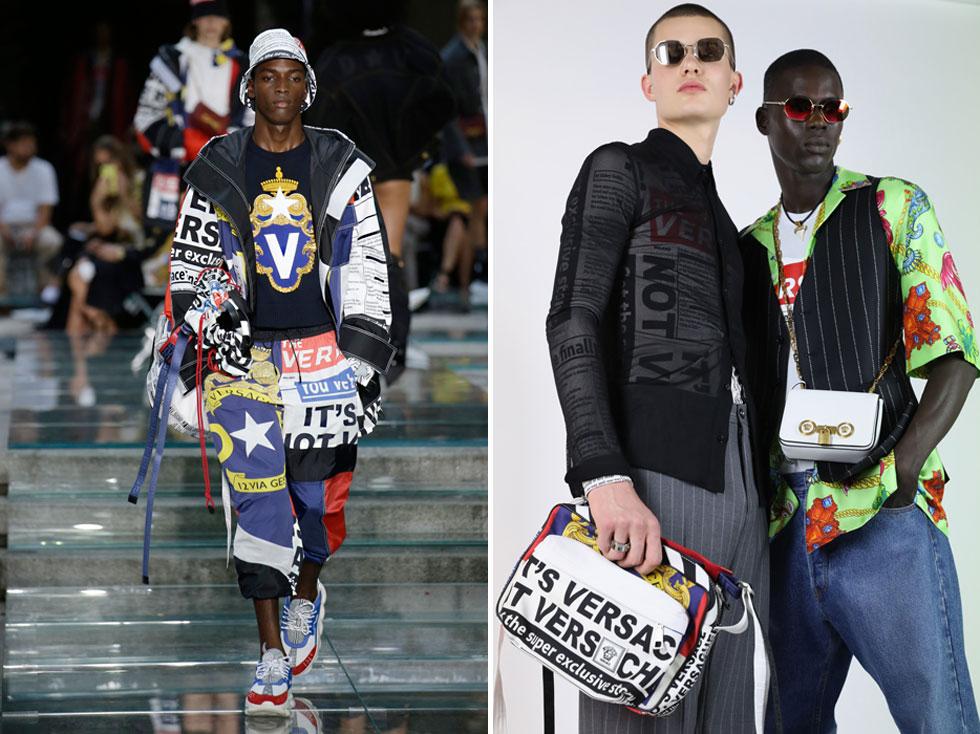 איך צריך לומר Versace? לאמריקאים, מתברר, יש בעיה עם הגיית השם Versace, כשהטעות הנפוצה היא להגיד ורסאצ'י, כפי שראינו בסרט הקאלט קלולס. לאחרונה התייחסה דונטלה ורסאצ'ה לעניין בראיון לווג, וכעת היא משחררת קולקציה שמסבירה כיצד לומר נכון את שם המותג. איקוניות היא שם המשחק (צילום: Tristan Fewings/Gettyimages, AP)