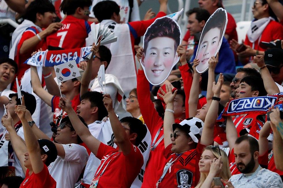 שבדיה דרום קוריאה מונדיאל (צילום: רויטרס)