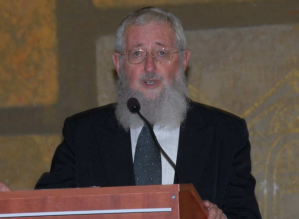 הרב שלמה דייכובסקי (צילום: משולם לוי)