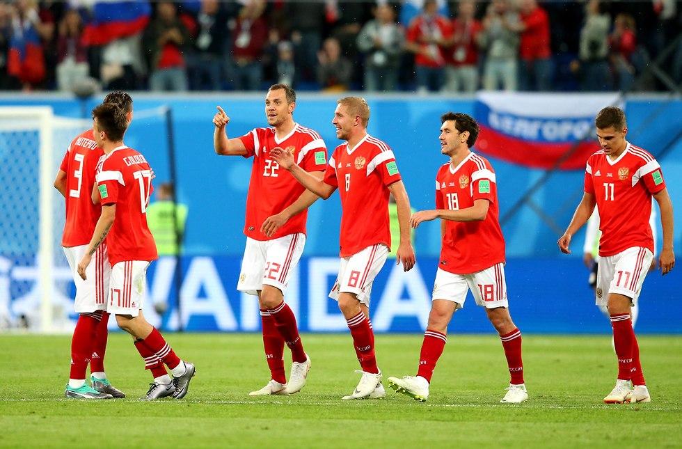 נבחרת רוסיה (צילום: gettyimages)