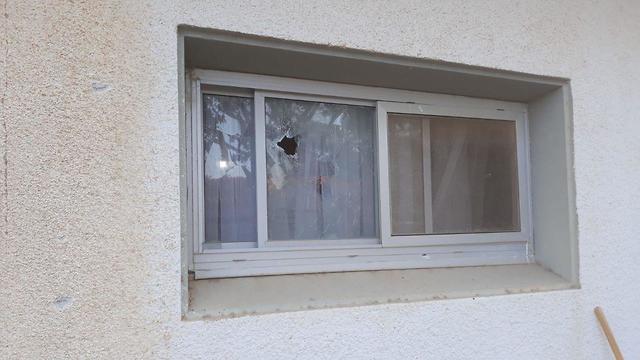 Damage in the Eshkol Regional Council  (Photo: Eshkol Security)
