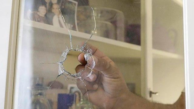 הנזקים בעוטף עזה (צילום: AP)